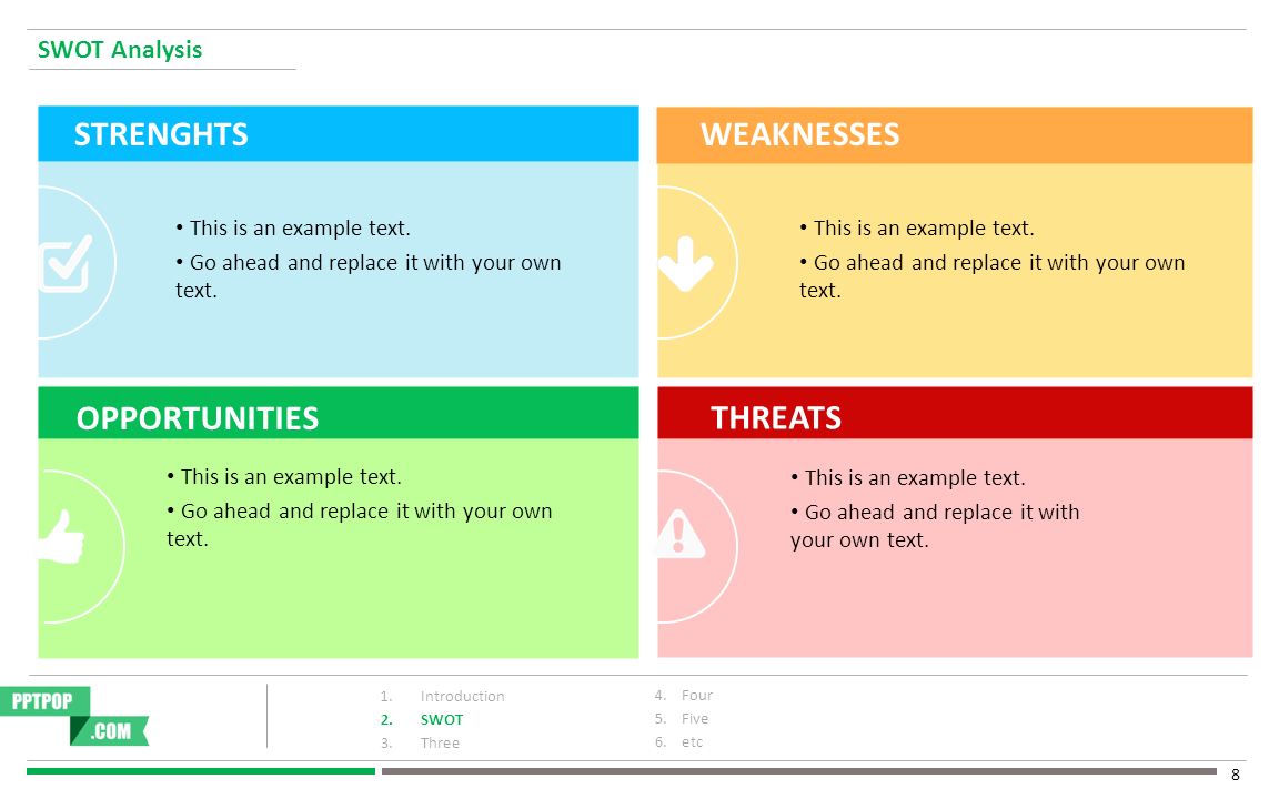 swot analysis template powerpoint Quotes