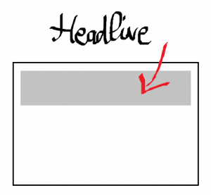 headlines integration in slide