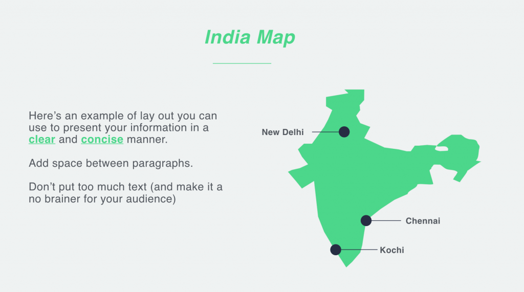 india map example