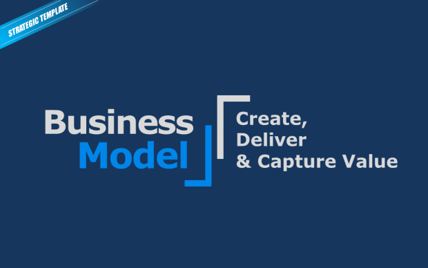 Heres a beautiful business model canvas ppt template free business model template accmission