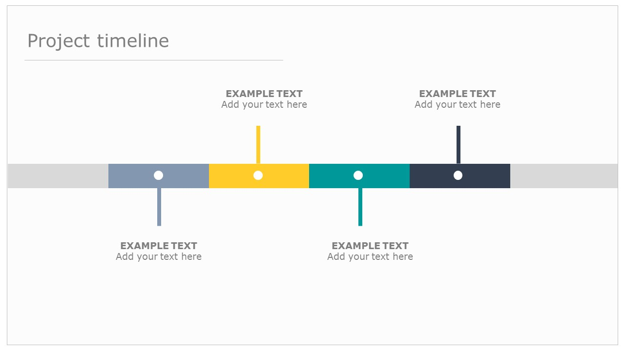 Get This Beautiful Editable PowerPoint Timeline Template Free - It project timeline template