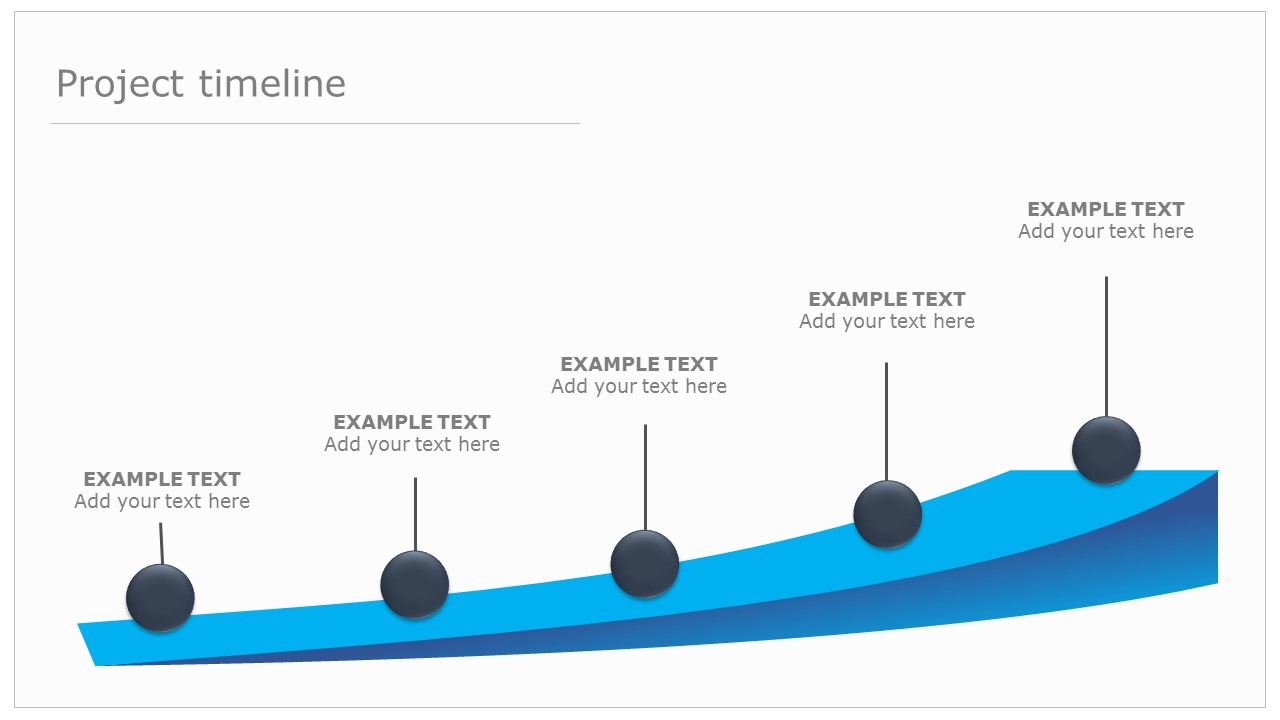 timline template - a beautiful editable powerpoint timeline template free