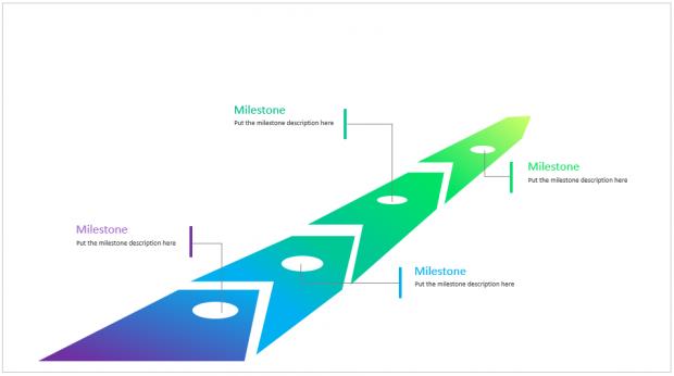 timeline 3d arrow