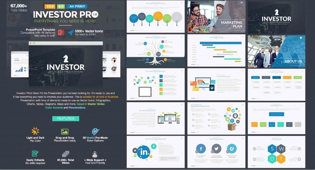 How to build a business plan presentation w ppt template investor pro pitch deck powerpoint template toneelgroepblik Images