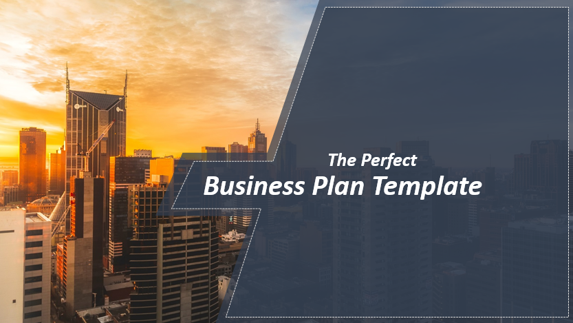 The Anatomy Of A Business Plan Presentation With Template