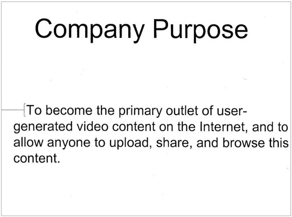Youtube pitch deck purpose