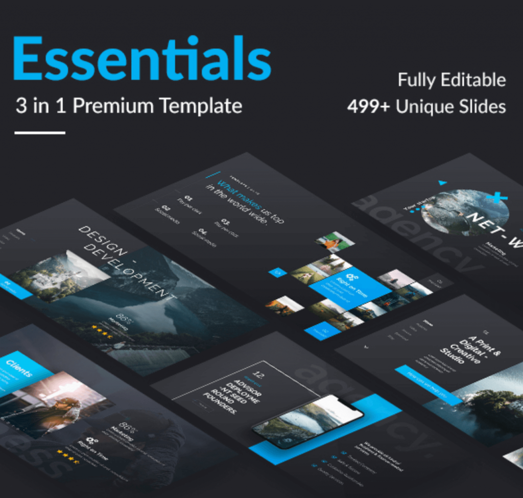 An AWESOME, Editable Professional PowerPoint Template [Free]