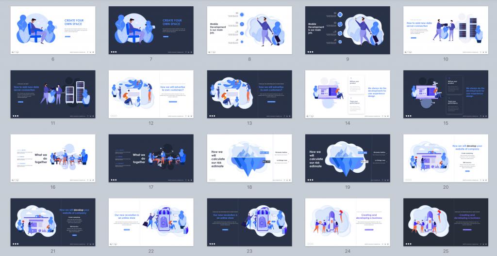 Massive X Illustrations Screenshot