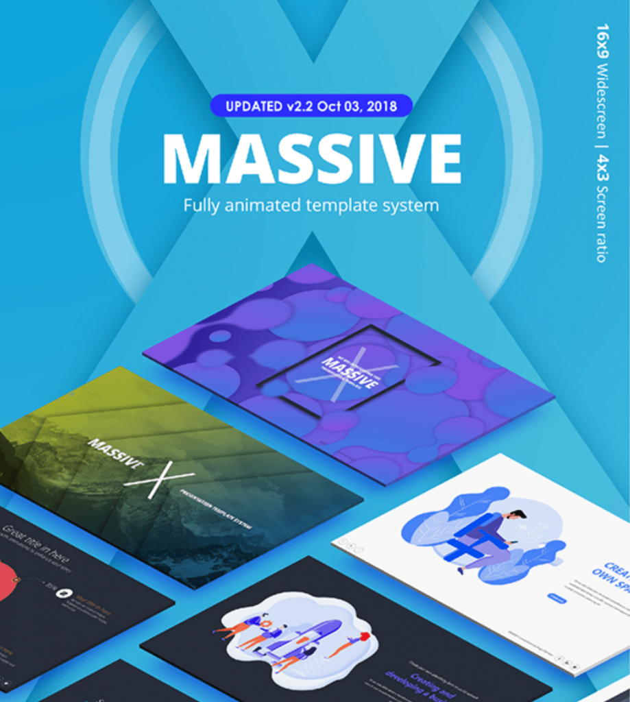 Massive X Business Template