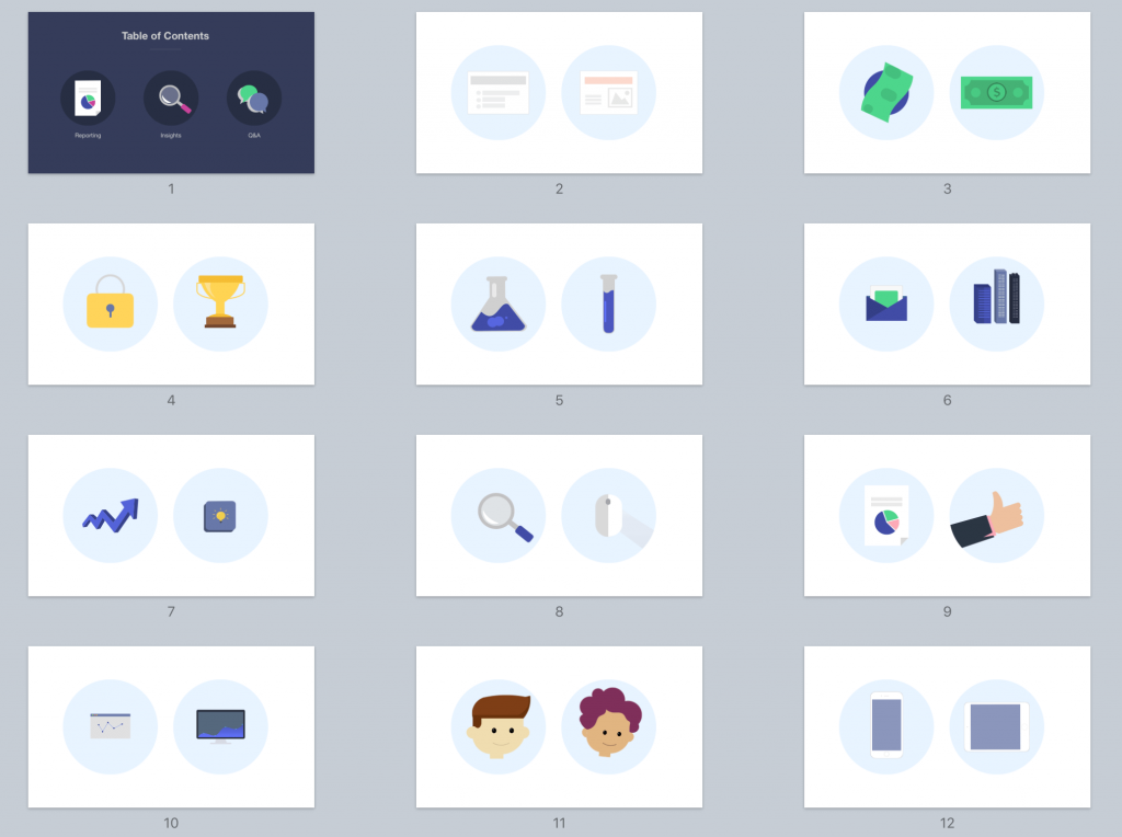 Editable powerpoint icons